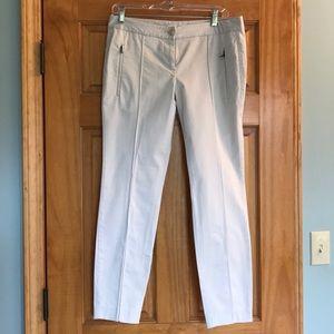 Ann Taylor LOFT khaki ankle pants size 4